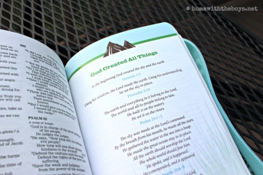 Nature Bible Inside Features