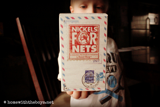 Nickels for Nets Box