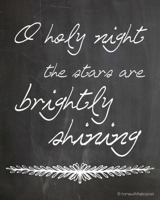 O Holy Night Stars Small