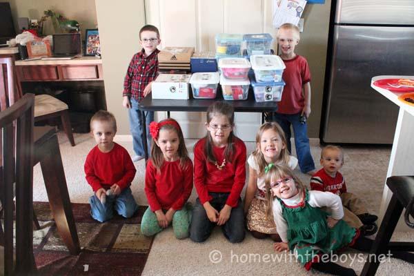 Operation Christmas Child Shoebox Packing Party!