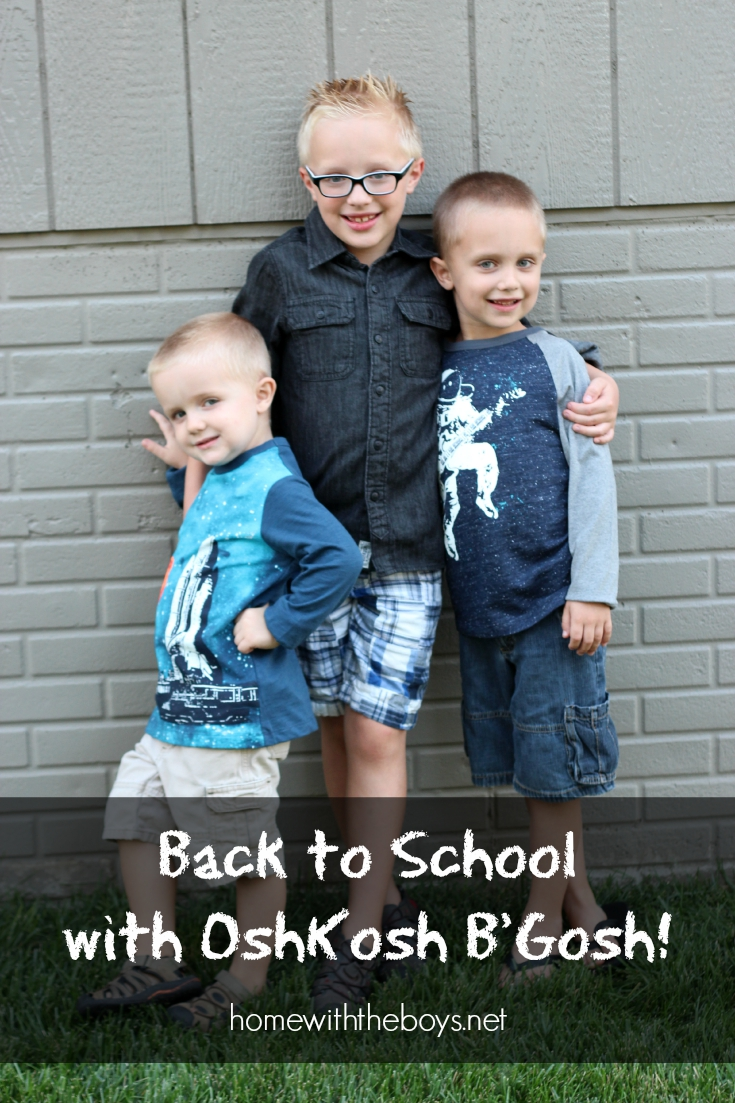 Back to School with OshKosh B'Gosh!