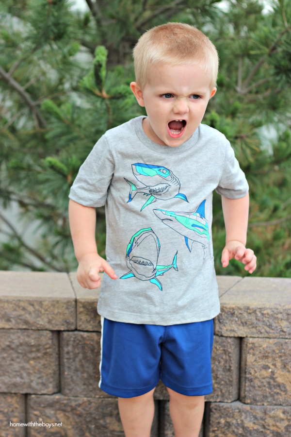 OshKosh Shark Face