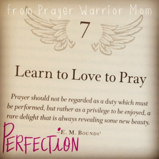 Prayer Warrior Mom