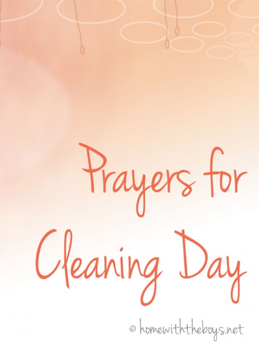 Prayers for Cleaning Day
