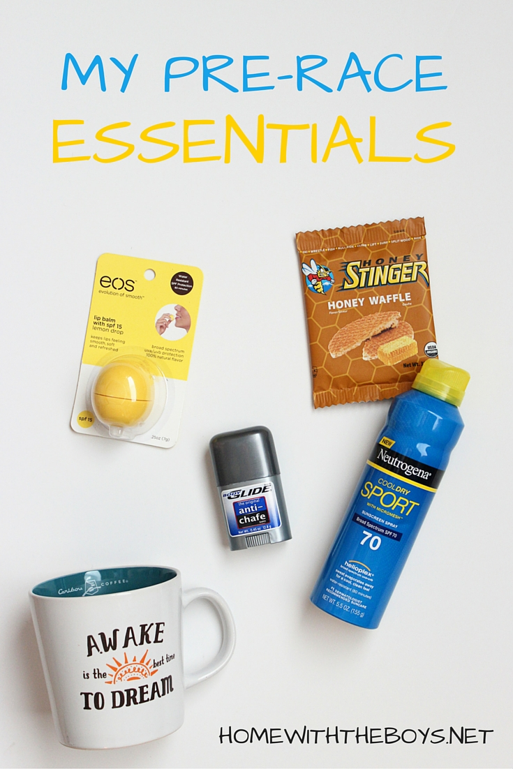 Race Day Essentials: Pre-Race