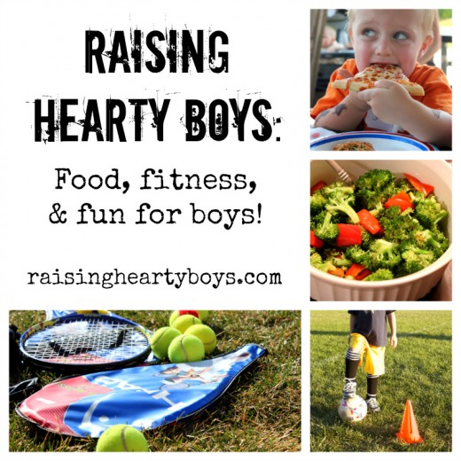 Raising Hearty Boys Launch