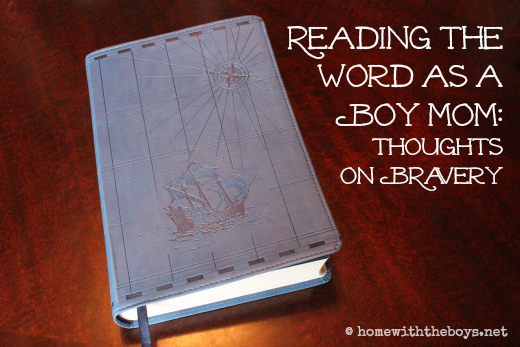 Reading the Word as a Boy Mom