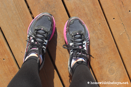 *The right shoes – If you are wanting to start running, there is no more important purchase than the right pair of shoes. I ran on my cross-trainers, ...