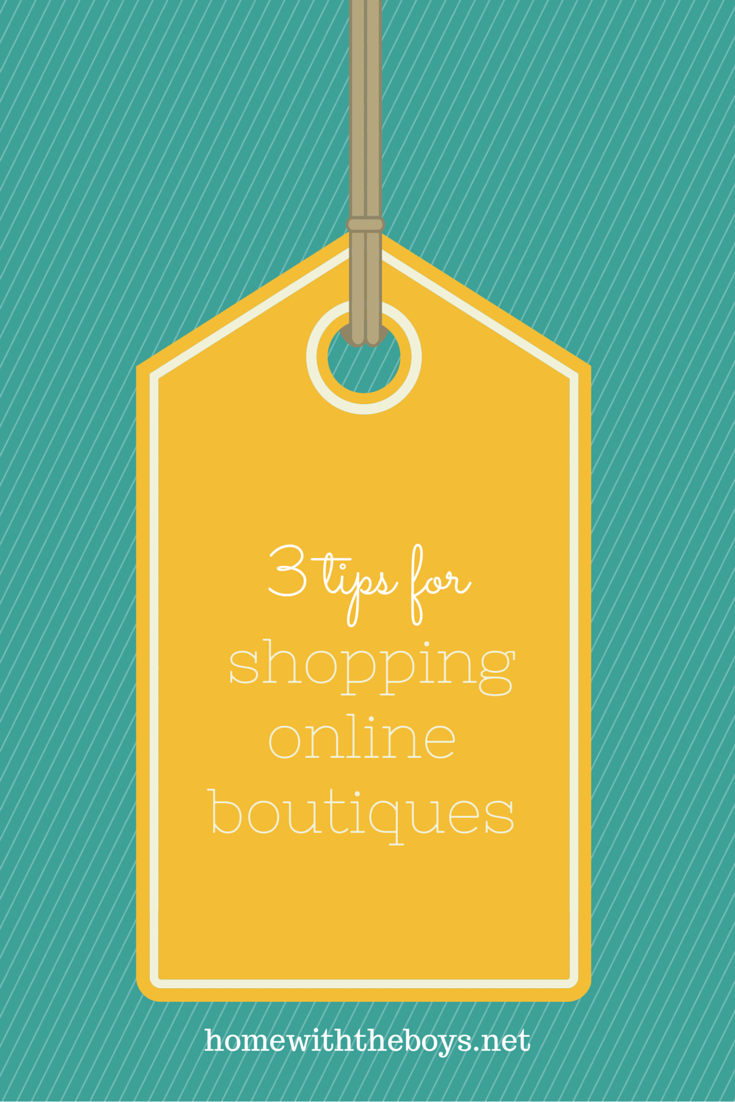 Shopping Online Boutiques