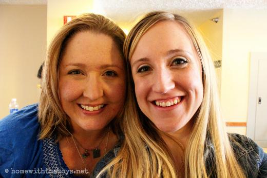 Sarah and Erin