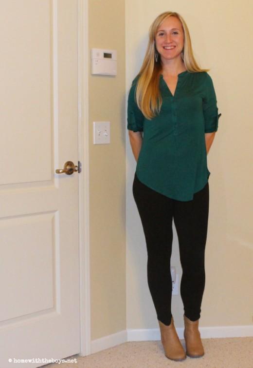Stitch Fix 2 Green Shirt