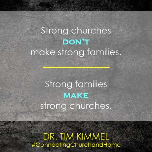 Strong Churches Graphic Tim Kimmel