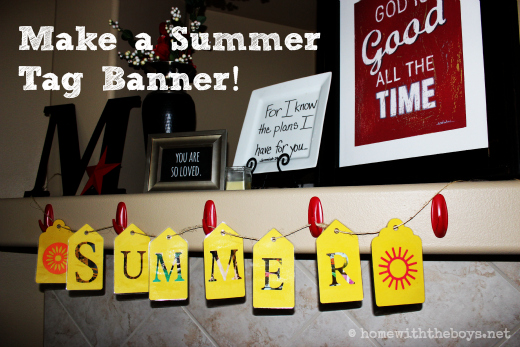 Summer Tag Banner Tutorial!