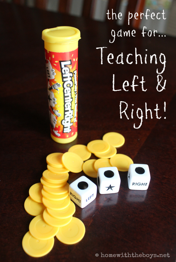 Teaching Left and Right with a Fun Game!
