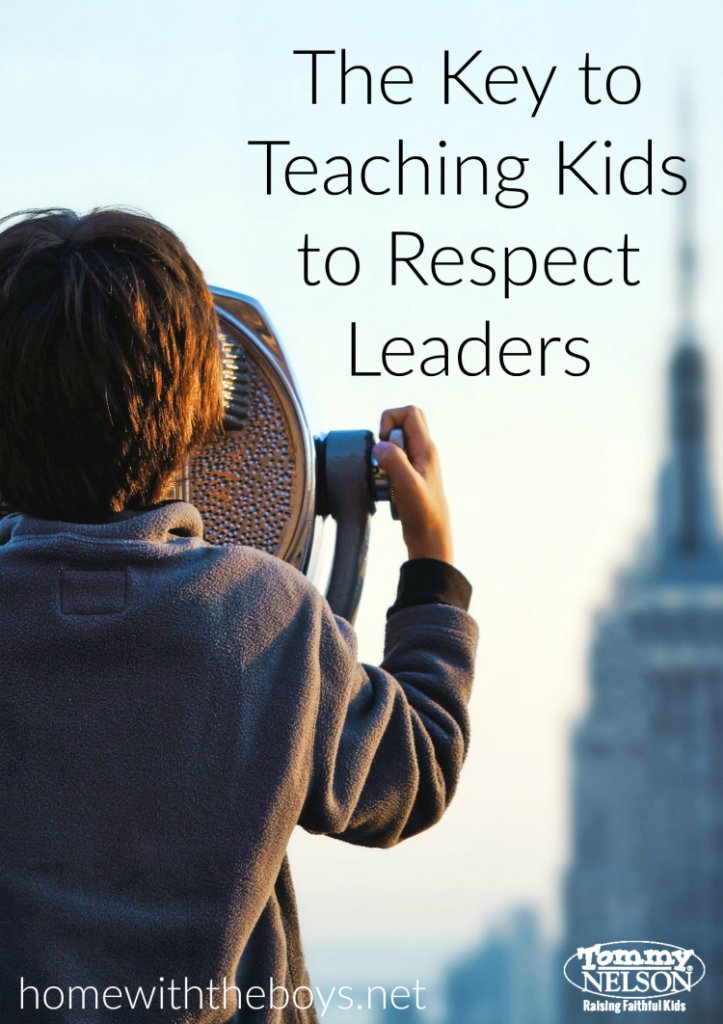 Teaching Our Children to Respect Their Leaders