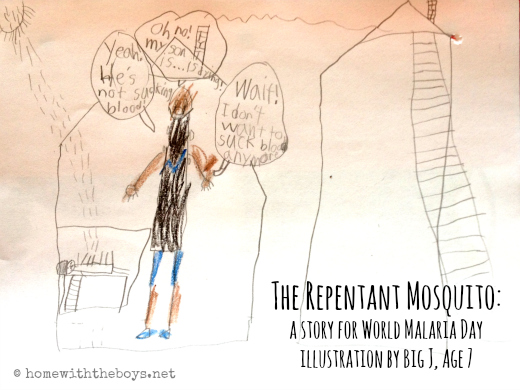The Repentant Mosquito {A Story for World Malaria Day}