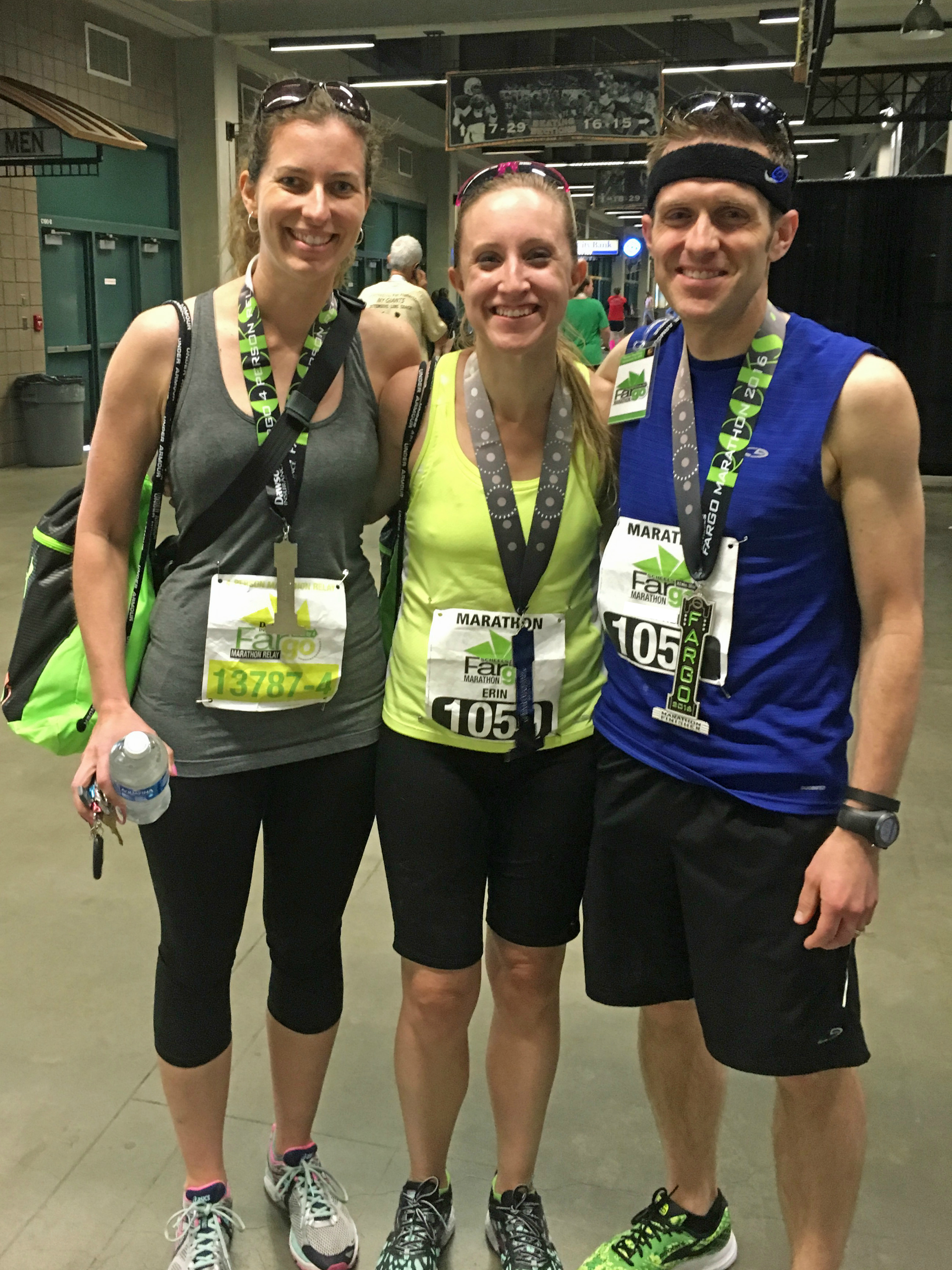 Three Musketeers Post Race Blog
