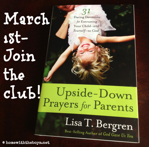 Upside Down Prayers Book Club