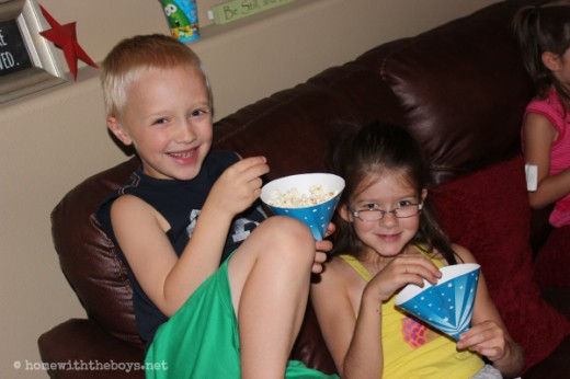 Veggie Tales Party Popcorn