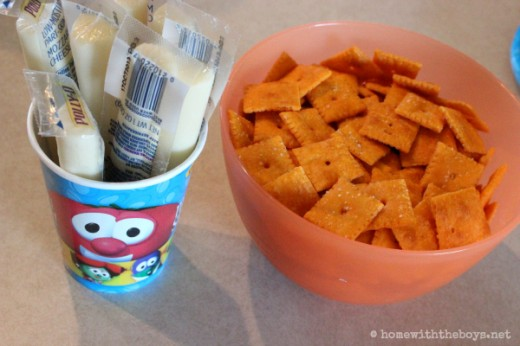 Veggie Tales Party Snacks