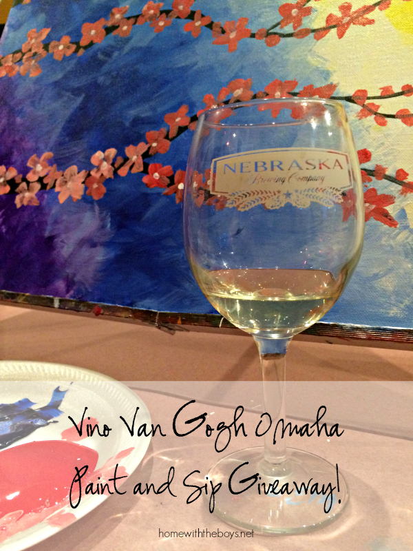 Vino Van Gogh: Paint + Sip Fun with Friends (Giveaway!)