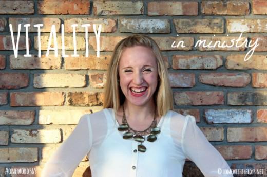 Vitality in Ministry