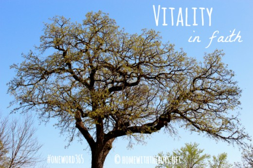 Vitality in faith