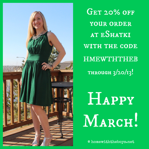 WIWW Green Dress eShatki coupon