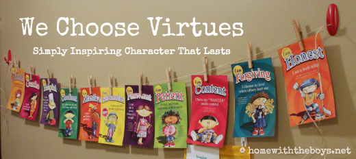 We Choose Virtues Banner
