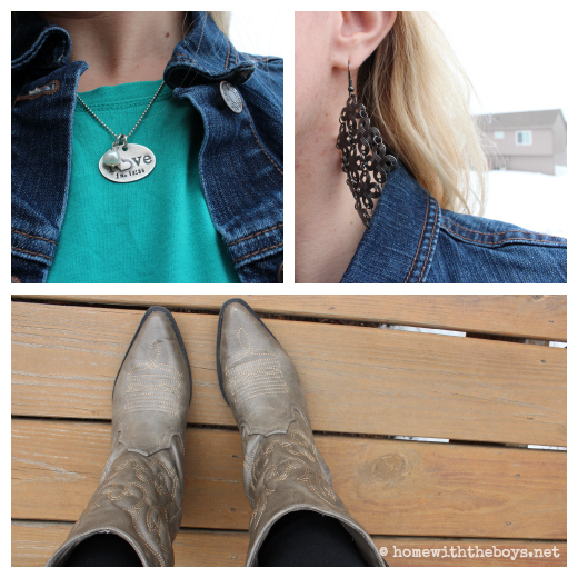 What I Wore Layers Collage