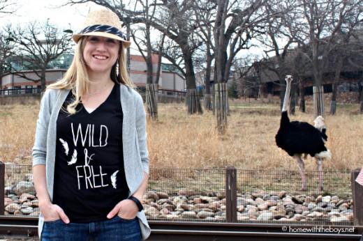 Wild & Free Ostrich